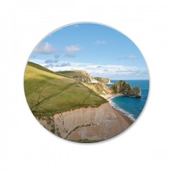 Circular Fridge Magnet
