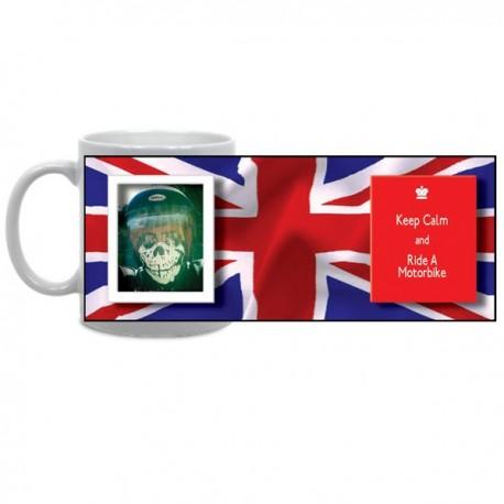 Keep Calm Union Jack Mug