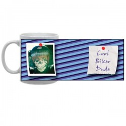 Super Striped Photo Mug